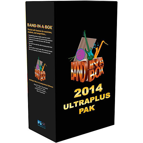 PG Music Band-in-a-Box 2014 UltraPlusPAK (Win-Portable Hard Drive)
