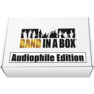 PG Music Band-in-a-Box 2017 Audiophile Edition Windows USB Hard Drive by PG Music