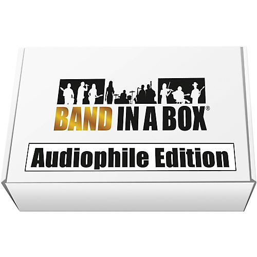 PG Music Band-in-a-Box 2017 Audiophile Edition (Windows USB Hard Drive)-thumbnail