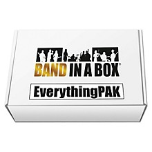 PG Music Band-in-a-Box 2017 EverythingPAK (Windows USB Hard Drive)