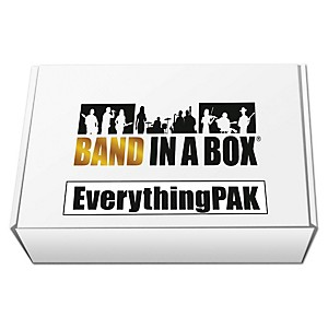 PG Music Band-in-a-Box 2017 EverythingPAK Windows USB Hard Drive by PG Music