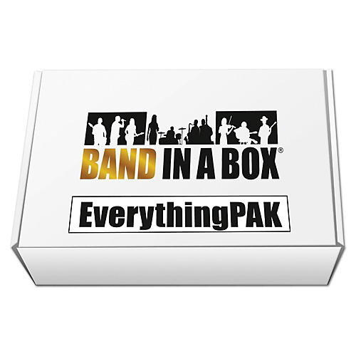 PG Music Band-in-a-Box 2017 EverythingPAK (Windows USB Hard Drive)-thumbnail