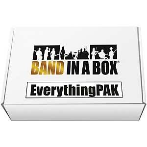PG Music Band-in-a-Box 2017 EverythingPAK Windows by PG Music