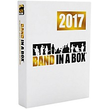PG Music Band-in-a-Box 2017 MEGAPAK (Windows)