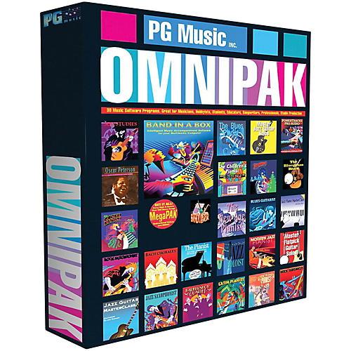 PG Music Band-in-a-Box 2017 OmniPAK (Windows USB Hard Drive)