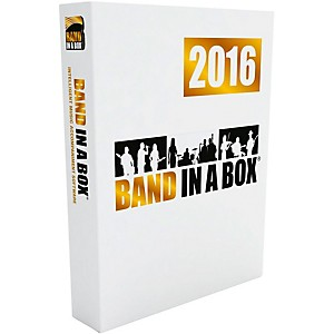 PG Music Band-in-a-Box EverythingPAK 2016 Windows Download by PG Music