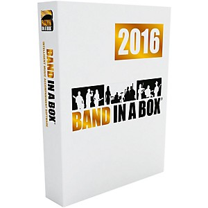 PG Music Band-in-a-Box MegaPAK 2016 Windows DVD-ROM by PG Music