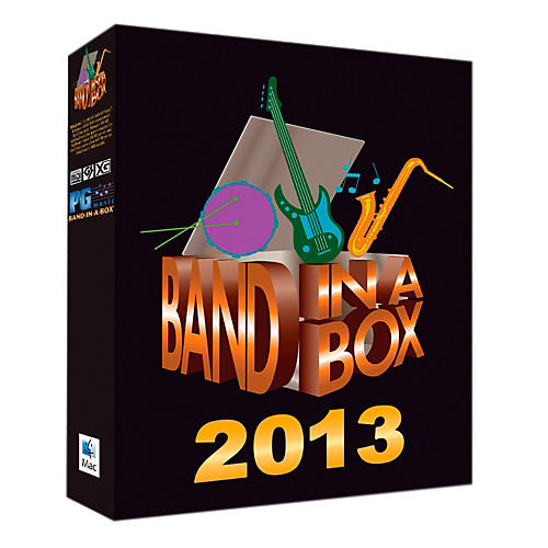 PG Music Band-in-a-Box Pro 2013 MAC (Mac-DVD)