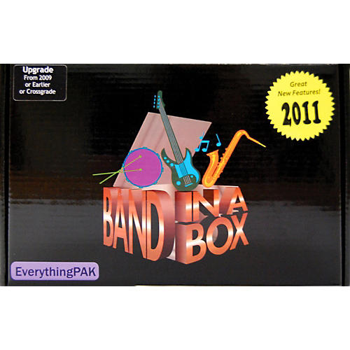 PG Music Band-in-a-Box Pro EverythingPAK 2011 MAC Upgrade from any Version-thumbnail
