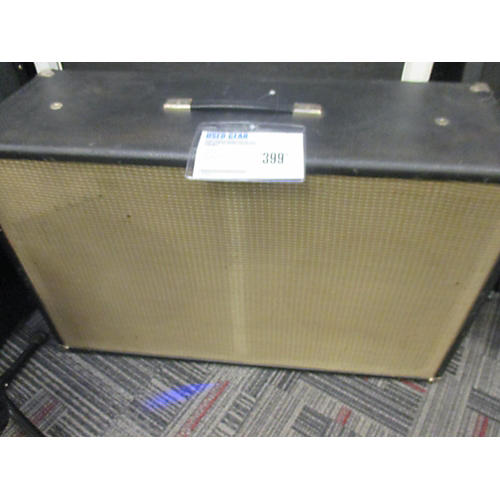 Fender Bandmaster 2x12 Cab With DV Mark 12s Guitar Cabinet-thumbnail