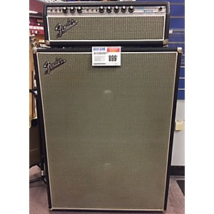 Pre-owned Fender Bandmaster Amp W/ Cabinet Guitar Stack