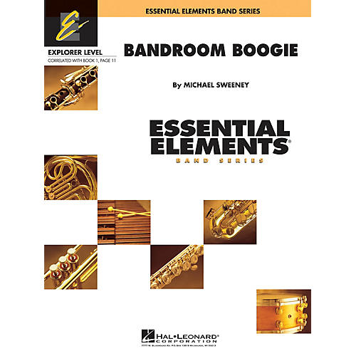 Hal Leonard Bandroom Boogie Concert Band Level 0.5 Composed by Michael Sweeney