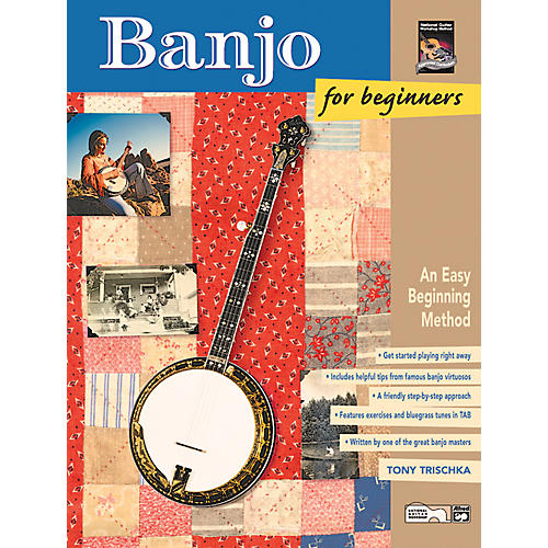 Alfred Banjo for Beginners Book & CD-thumbnail