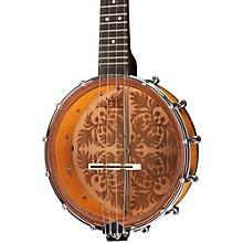 """Luna Guitars Banjolele 8"""" Ukulele Level 1 Tobacco Burst Ulu Design"""