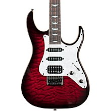 Banshee-6 Extreme Solid Body Electric Guitar Black Cherry Burst