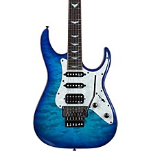 Banshee-6 FR Extreme Solid Body Electric Guitar Ocean Blue Burst
