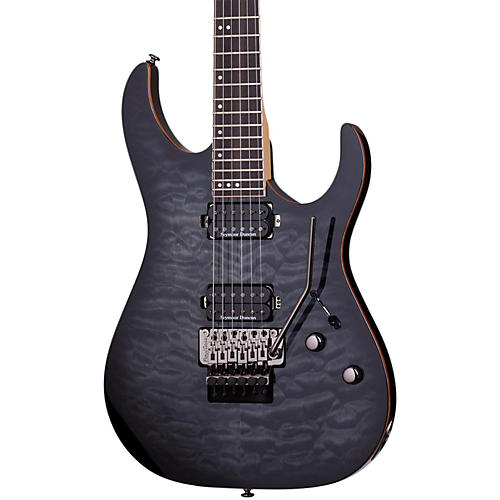 Schecter Guitar Research Banshee-6 Passive Electric Guitar with Floyd Rose-thumbnail