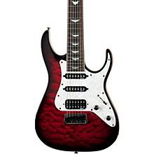 Banshee-7 Extreme 7-String Electric Guitar Black Cherry Burst