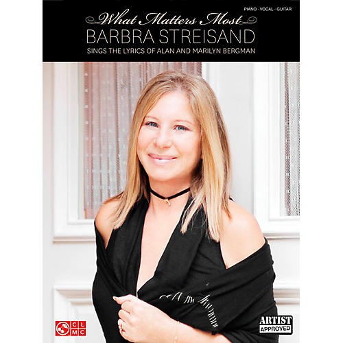 Cherry Lane Barbra Streisand - What Matters Most for Piano/Vocal/Guitar PVG-thumbnail