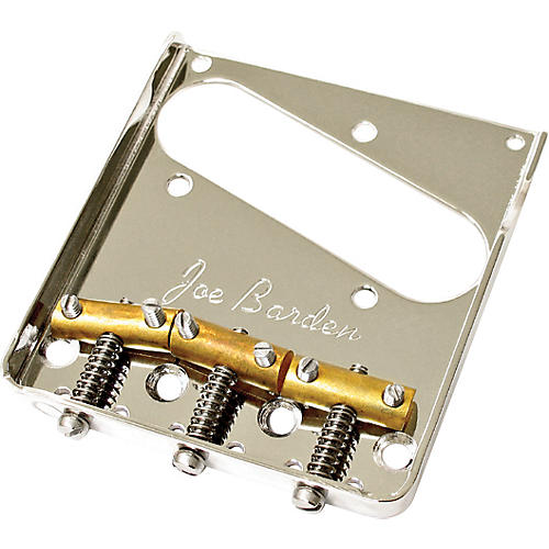 JBE Pickups (Barden) Vintage Tele Bridgeplate and Saddle Kit Nickel