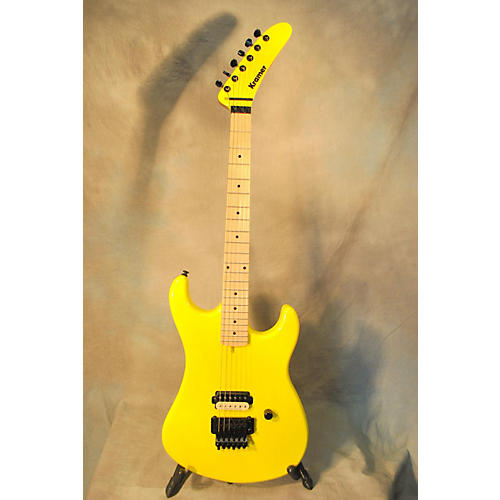 Kramer Baretta Fr Taxi Cab Yellow Solid Body Electric Guitar