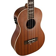 Baritone All-Mahogany Acoustic-Electric Ukulele with USB
