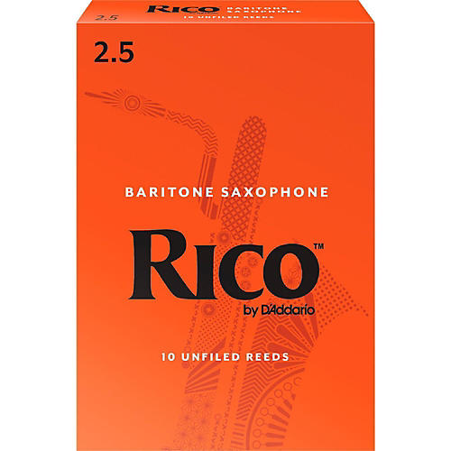 Rico Baritone Saxophone Reeds, Box of 10-thumbnail