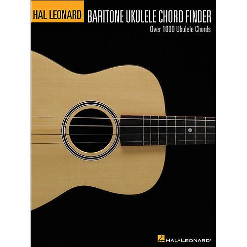 Hal Leonard Baritone Ukulele Chord Finder (9X12 Size)-thumbnail
