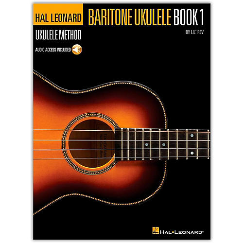 Hal Leonard Baritone Ukulele Method Book 1 (Book/Online Audio)