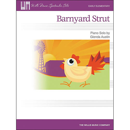 Willis Music Barnyard Strut - Early Elementary Piano Solo by Glenda Austin-thumbnail