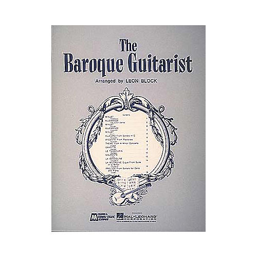 Edward B. Marks Music Company Baroque Guitarist Book-thumbnail