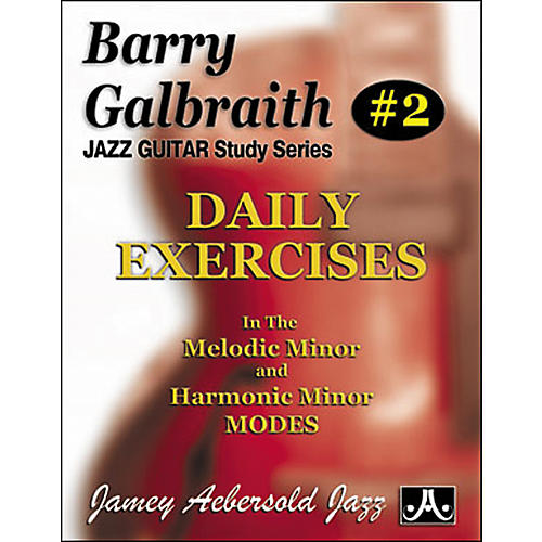 Jamey Aebersold Barry Galbraith - Daily Exercises Book-thumbnail