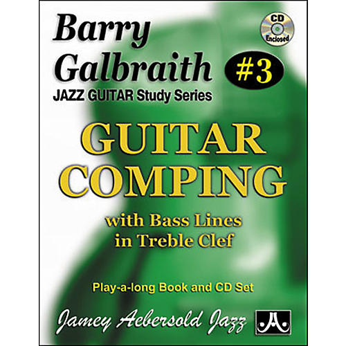 Jamey Aebersold Barry Galbraith Guitar Comping Book/CD