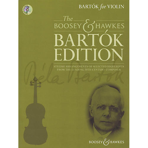 Boosey and Hawkes Bartók for Violin Boosey & Hawkes Chamber Music Series Softcover with CD