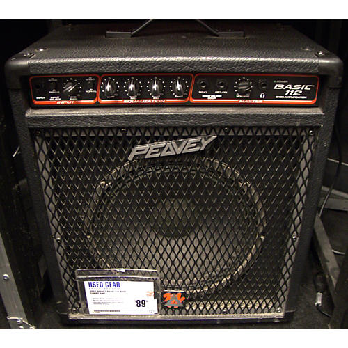 Peavey Basic 112 Bass Combo Amp-thumbnail