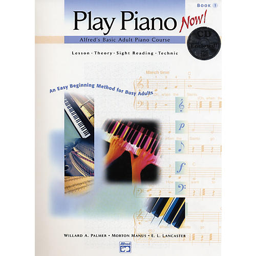 Alfred Basic Adult Play Piano Now!  Book 1 with CD-thumbnail
