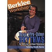 Berklee Press Basic Afro Cuban Rhythms (DVD)
