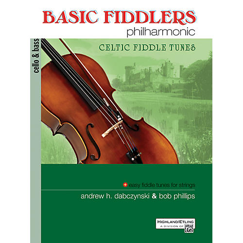 Alfred Basic Fiddlers Philharmonic Celtic Fiddle Tunes Cello/Bass Book-thumbnail