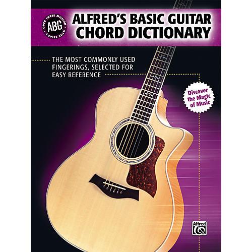 Alfred Basic Guitar Chord Dictionary (Book)-thumbnail