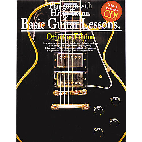 music sales basic guitar lessons books 1 2 3 and 4 book cd guitar center. Black Bedroom Furniture Sets. Home Design Ideas