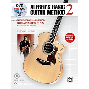 Alfred Basic Guitar Method 2 3rd Edition Book, DVD and Online Audio and Video