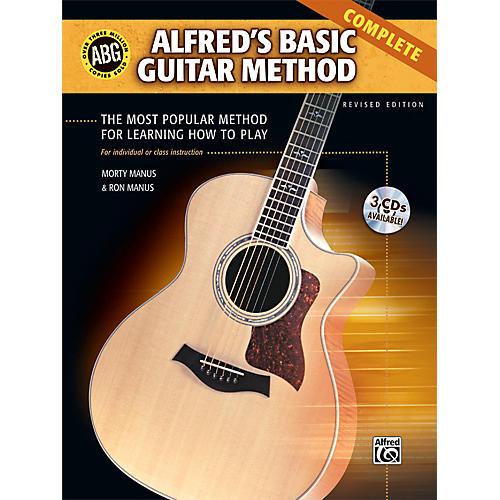 Alfred Basic Guitar Method Complete Book