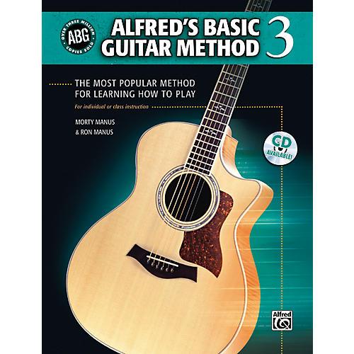 Alfred Basic Guitar Method Level 3 (Book/CD)