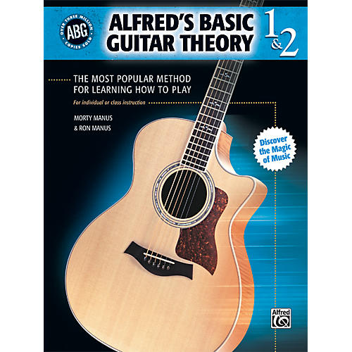 Alfred Basic Guitar Theory Volumes 1 and 2 (Book)-thumbnail