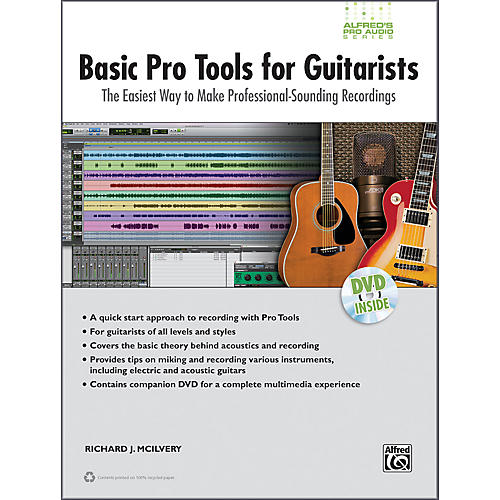 Alfred Basic Pro Tools for Guitarists Book & DVD-thumbnail