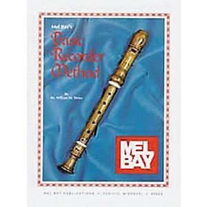 Mel Bay Basic Recorder Method Book