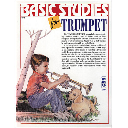 Hal Leonard Basic Studies for Trumpet-thumbnail