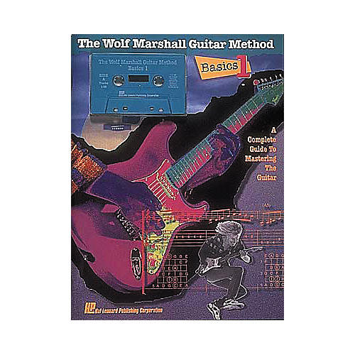 Hal Leonard Basics 1 - The Wolf Marshall Guitar Method (Book and Cassette Package)