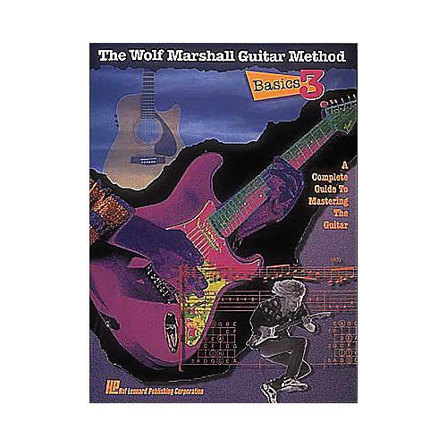 Hal Leonard Basics 3 - The Wolf Marshall Guitar Method Book-thumbnail