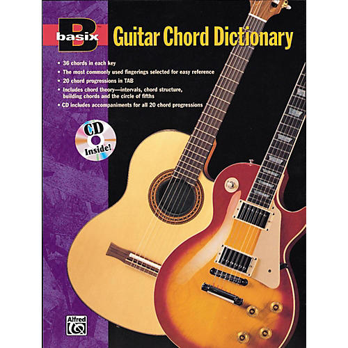Alfred Basix Guitar Chord Dictionary Book & CD